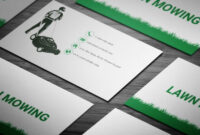 Brilliant Lawn Mowing Business Card- Full Preview | Free with Lawn Care Business Cards Templates Free