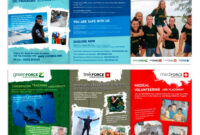 Brochure Designnic For Young Gap Year Global Volunteer intended for Volunteer Brochure Template