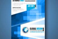 Brochure Template Flyer Design Or Depliant Cover with regard to Social Media Brochure Template