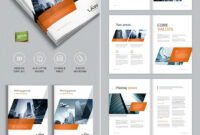 Brochure Template For Indesign – A4 And Letter | Indesign for Brochure Templates Free Download Indesign