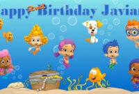 Bubble Guppies -Custom- Personalized Vinyl And 50 Similar Items with regard to Bubble Guppies Birthday Banner Template