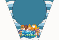Bubble Guppies Free Party Printables. | Bubble Guppies pertaining to Bubble Guppies Birthday Banner Template