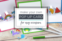 Build Your Own 3D Card With Free Pop Up Card Templates – The inside Templates For Pop Up Cards Free