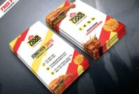 Business Card Design Food – Www with regard to Restaurant Business Cards Templates Free