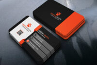 Business Card Design (Free Psd) On Behance throughout Visiting Card Templates Psd Free Download