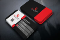 Business Card Design (Free Psd) On Behance with Business Card Template Photoshop Cs6