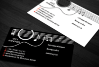 Business Card Design-Sanrell-™ For Guitar Teacher And regarding Business Cards For Teachers Templates Free