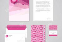 Business Card Letterhead Envelope Vector   Resume Builder regarding Business Card Letterhead Envelope Template