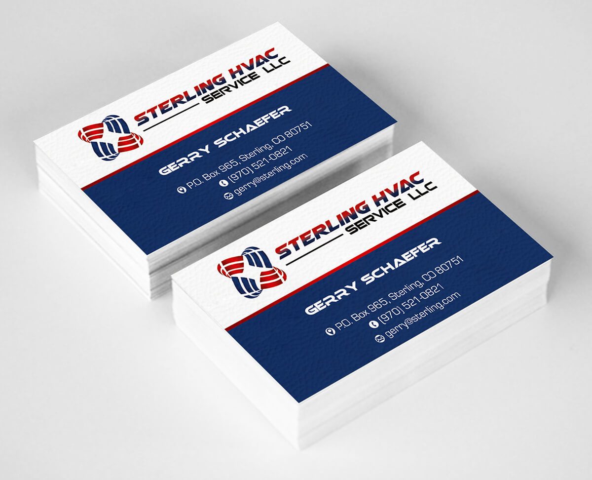 Business Card Logo – Business Card Tips For Hvac Business Card Template