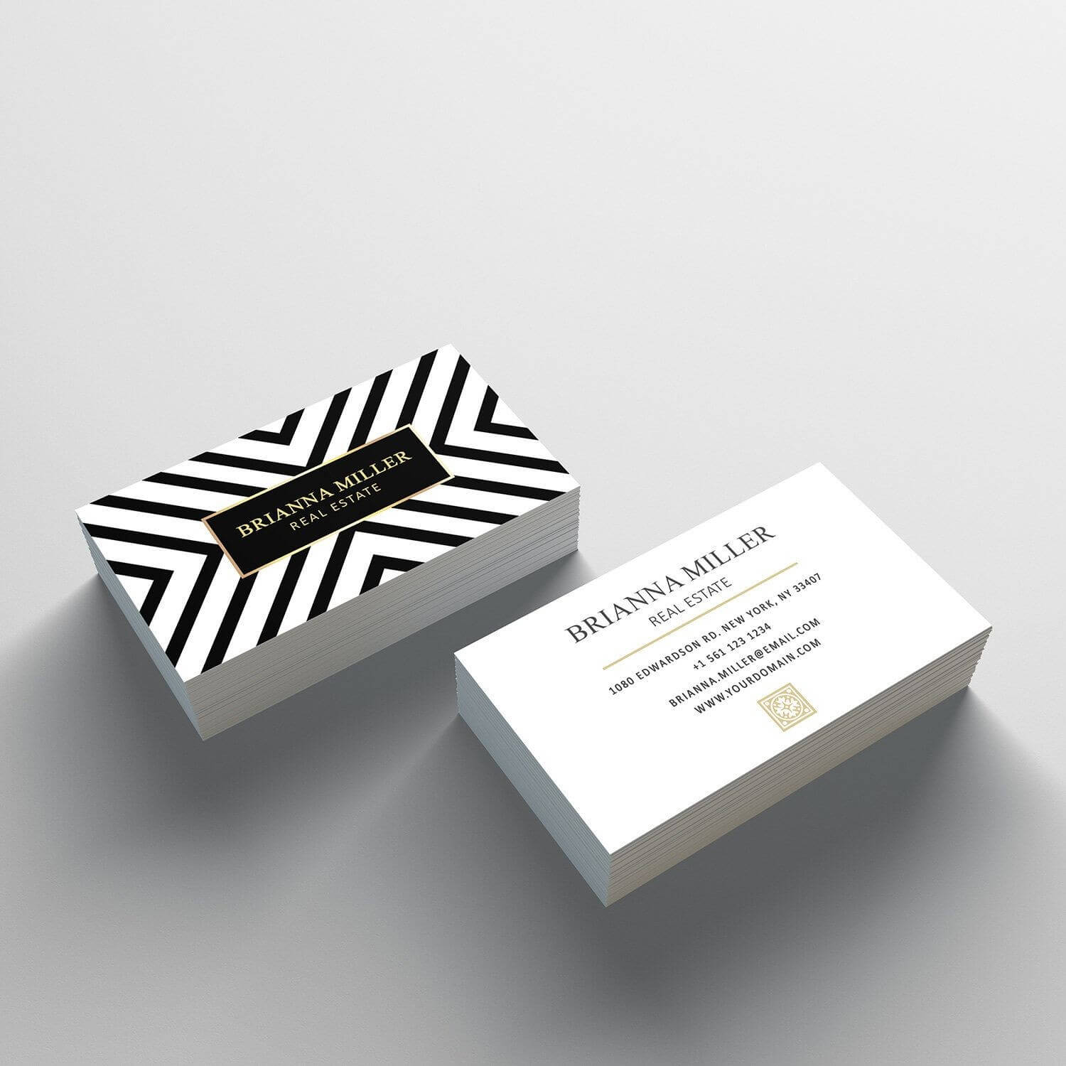 Business Card Template - 2 Sided Business Card Design Within 2 Sided Business Card Template Word