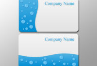 Business Card Template Photoshop – Blank Business Card Pertaining To Blank Business Card Template Download