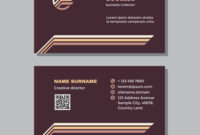 Business Card Template With Logo – Concept Design intended for Transport Business Cards Templates Free