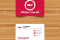 Business Card Template With Texture. Donation Hand Sign Icon with regard to Donation Card Template Free