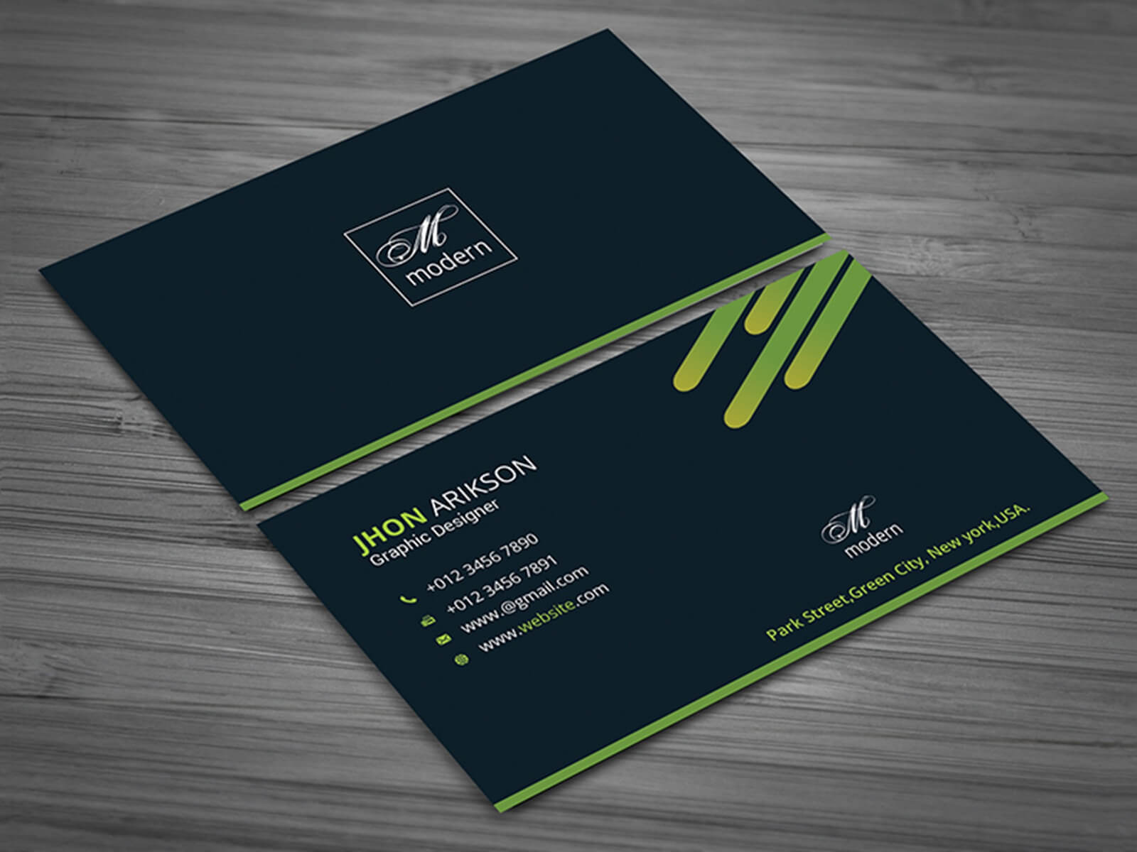 Business Card Templateakhtar Jahan On Dribbble Pertaining To Buisness Card Template