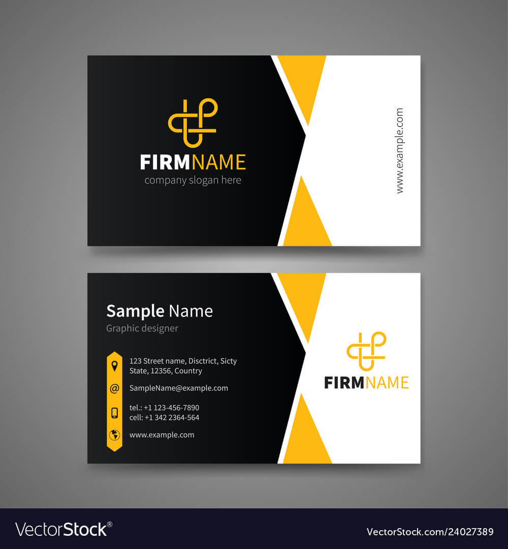 Business Card Templates Inside Buisness Card Template