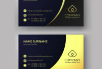 Business Card Templates pertaining to Visiting Card Illustrator Templates Download