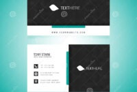 Business Card Vector Template Stock Vector – Illustration Of with regard to Adobe Illustrator Business Card Template
