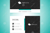 Business Card Vector Template Stock Vector – Illustration Of with regard to Adobe Illustrator Card Template