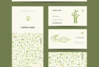 Business Cards Design Massage And Spa Concept Throughout Massage Therapy Business Card Templates