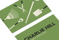 Business Cards For Gardening Businesssmall Dots with regard to Gardening Business Cards Templates