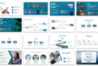 Business Graph Presentation Powerpoint Template #67383 within Powerpoint 2013 Template Location