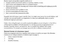 Business Report Format – Makar.bwong.co intended for What Is A Report Template