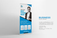 Business Roll-Up Banner Template Psd | Banner, Create Your pertaining to Retractable Banner Design Templates