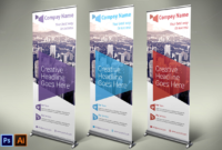 Business Roll-Up Banner – Vol 06Nexdesign On throughout Vinyl Banner Design Templates