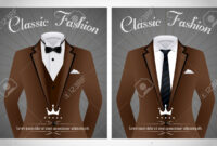 Business Suit Template With Black Tie And White Shirt Banner within Tie Banner Template