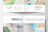 Business Templates For Bi Fold Brochure, Magazine, Flyer Or with Blank City Map Template
