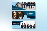 Business Website Banner Design Vector | Free Image intended for Photography Banner Template