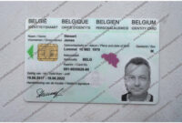 Buy Fake Belgian Id Card Online, Belgium Fake Id Card For Inside French Id Card Template