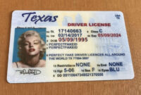 Buy Your Fake Passport At Very Affordable Price | Drivers pertaining to Texas Id Card Template