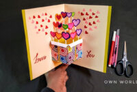 Ca0Fd3 Pop Up Birthday Card Template Luxury Greeting Card within Diy Pop Up Cards Templates
