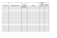 Call Sheet Template Free Spreadsheet Examples Pin On throughout Blank Call Sheet Template