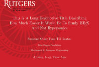 Can I Specify Title Page Customization In A Template Instead within Rutgers Powerpoint Template