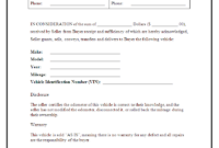 Car Sales Form Template – Zimer.bwong.co regarding Car Bill Of Sale Word Template