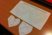 Card Making | A Student's Life for Heart Pop Up Card Template Free