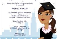 Card Template : Graduation Invitation Template – Card in Graduation Invitation Templates Microsoft Word
