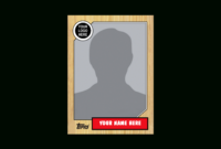 Card Template Png, Picture #490519 Baseball Card Png in Custom Baseball Cards Template