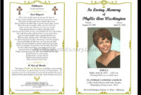 Celebration Of Life Templates For Word Free – Aol Image for Remembrance Cards Template Free