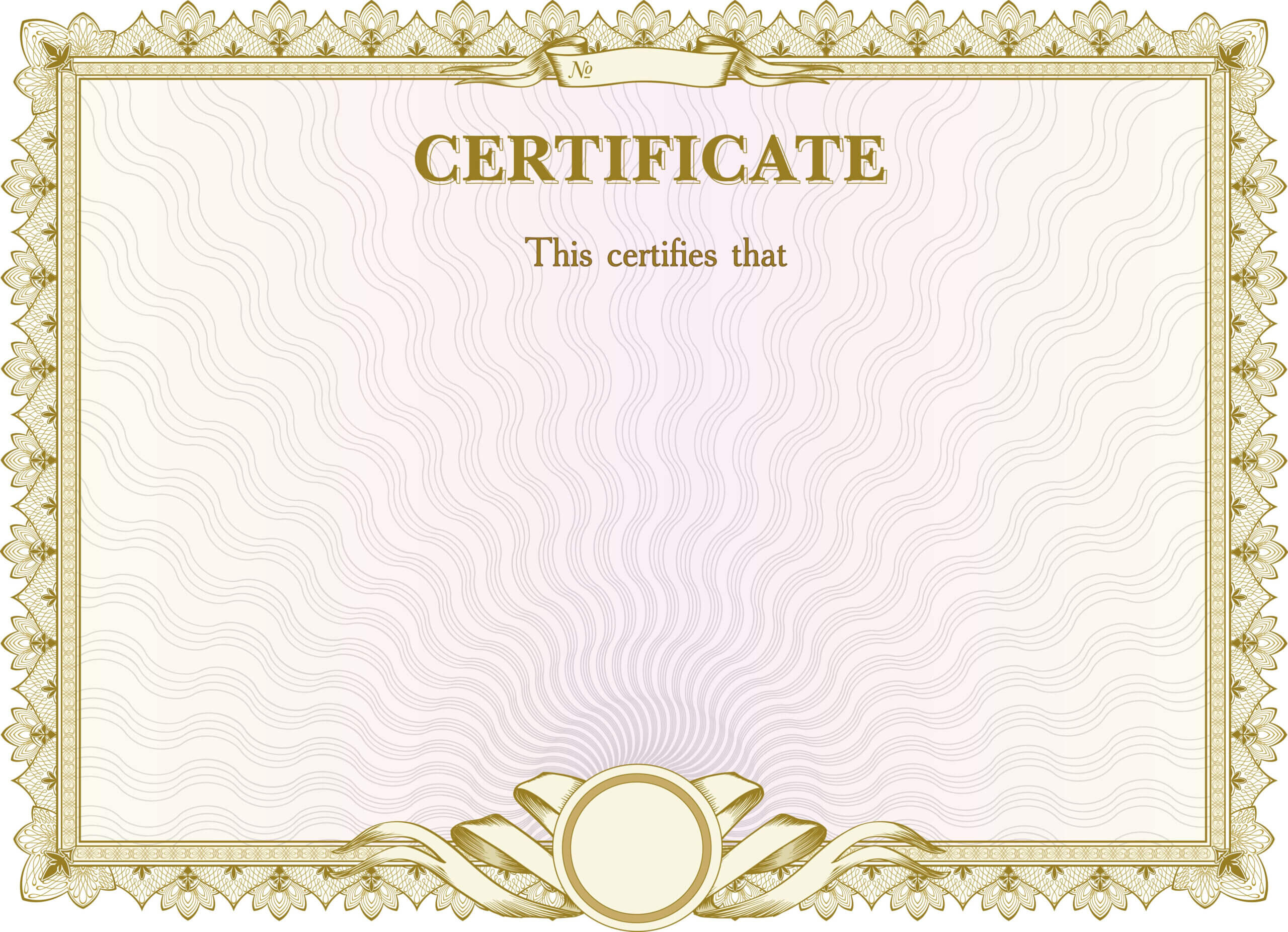 Certificate Background Material Pattern | Certificate Intended For Certificate Of Authorization Template
