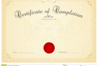Certificate / Diploma Background Template. Floral Stock within Scroll Certificate Templates