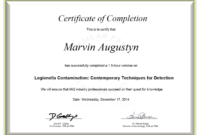 Certificate Examples – Simplecert pertaining to Continuing Education Certificate Template