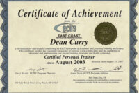 Certificate Of Achievement Army Template ] – Army regarding Certificate Of Achievement Army Template