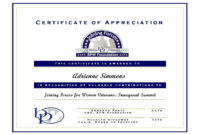 Certificate Of Appreciation For Guest Speaker Template in Manager Of The Month Certificate Template