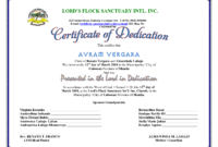 Certificate Of Dedication | Baby Dedication Certificate within Baby Christening Certificate Template
