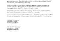Certificate Of Participation In Workshop | Templates At with regard to Certificate Of Participation In Workshop Template