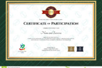 Certificate Of Participation Template In Sport Theme With with regard to Rugby League Certificate Templates