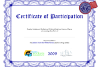 Certificate Of Participation Template Ppt | What Is A Cover throughout Certificate Of Participation Template Ppt